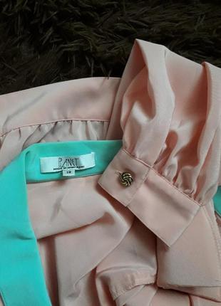 Шифоновый пиджак р-р л-хл5 фото