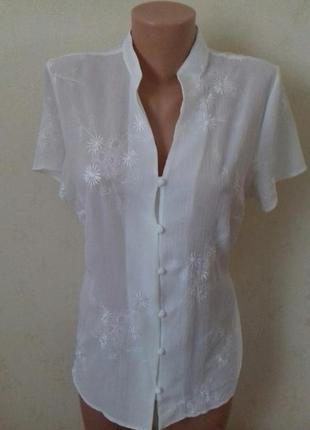 Блуза с вышивкой style by ewm