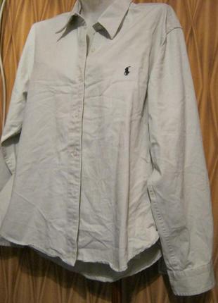 Хлопковая рубашка polo sport