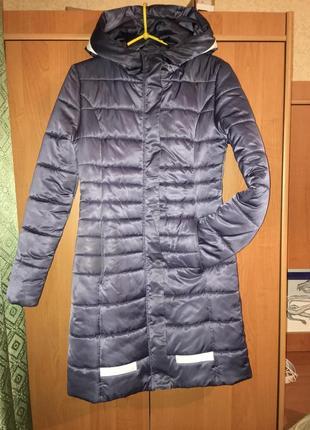 Пуховик пальто куртка зима зимняя холлофайбер