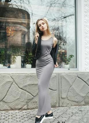 Новое платье майка в пол h&m 100% вискоза