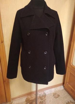 Повседневное кэжуал пальто куртка.шерсть.