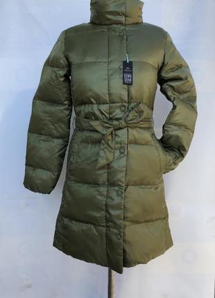 Пальто gap пуховое xs