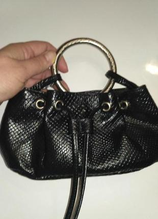 Модная сумка ручка-кольцо breil