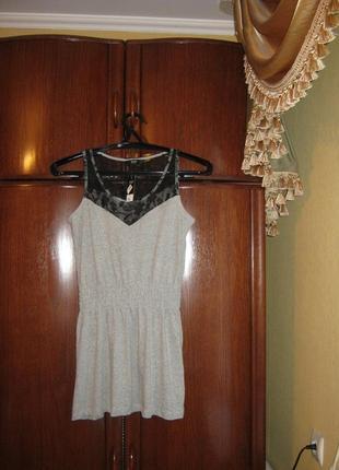 Платье-туника f&f, размер 12, новое с этикеткой