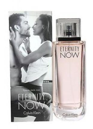 Calvin klein eternity now парфюмированная вода