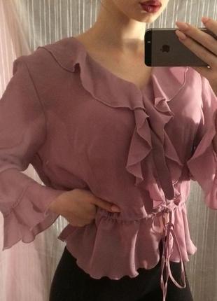 Блуза,рубашка,кофта,блузка с рюшами