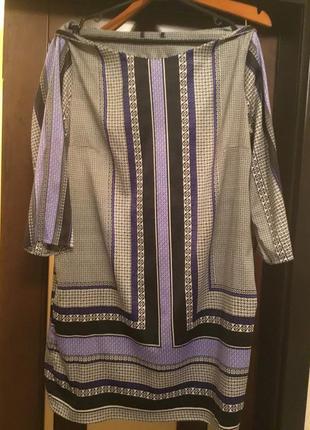 Сатиновое платье туника george