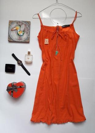 Льняне плаття , сарафан cocomore