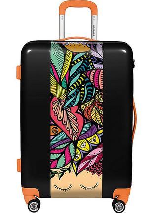 Большой дорожный семейный чемодан из сша ugobags nature by amy