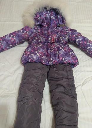 Куртка зимня, штани комбінезон