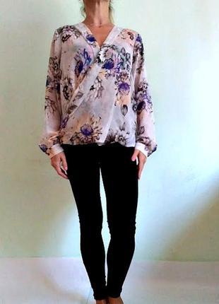 Красивейшая блуза на запах 14