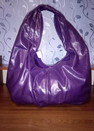 Большая вместительная сумка-мешок