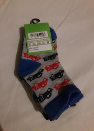 Набор носки для мальчика 3 пары на рост 80-86см