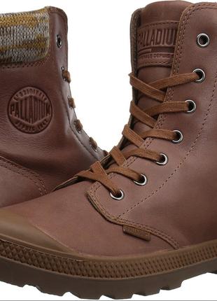 Оригинал. кожаные ботинки pampa hi knit lp , 10us 27см