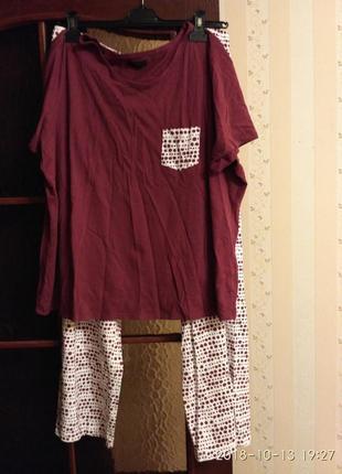 Пижама на пышные формы от f&f