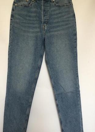 Мом джинсы на высокой посадке новые