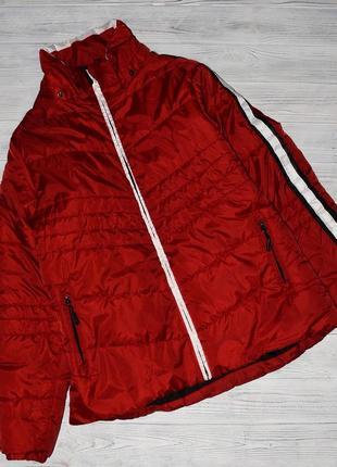 Зимняя красная курточка, р. 46-48