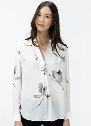Шикарная блуза из вискозы joules на 52-54 размер