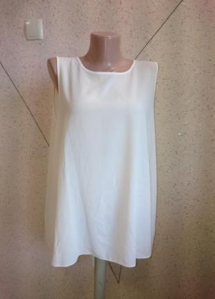 Блуза с вырезом большой размер2
