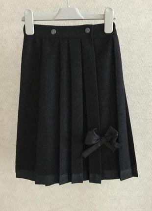Joseph baby шерстяная юбка в складку