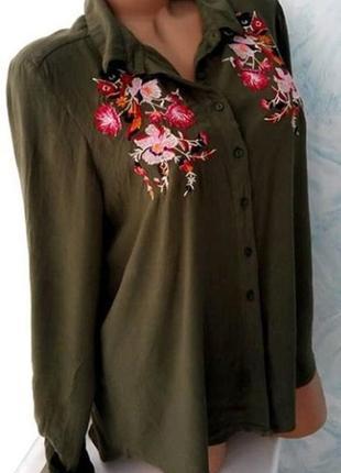 Рубашка с вышивкой от primark
