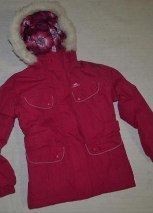 Детская лыжная термо куртка парка trespass на девочку в идеале