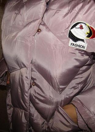 """Куртка пальто """"зефирка"""" зима на меху, для девочек,16 лет, венгрия 10,164"""