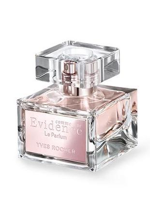 "Духи!!!!""comme une évidence - le parfum"" евиденс 30мл yves rocher ив роше"