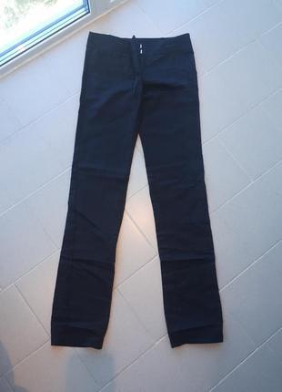 Классические льняные брюки со стрелкой