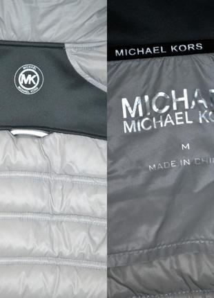 Куртка микро пуховик демисезонный michael kors оригинал.5 фото