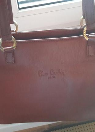 Кожанная сумка piere cardin (оригинал)2