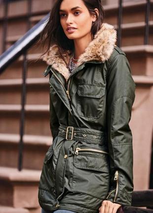 Куртка next хаки размер12 м