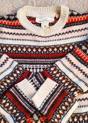 Теплое вязаное платье, туника р. s,m