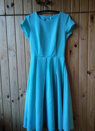 На корпоратив) красивое миди платье