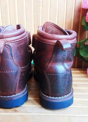 Кожаные ботинки от timberlend 28р.2 фото