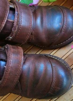 Кожаные ботинки от timberlend 28р.3 фото