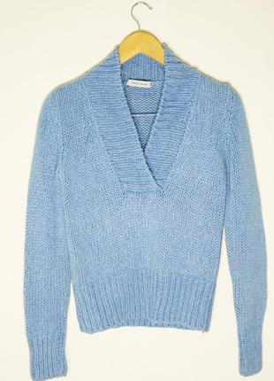 Теплый свитер премиум бренда rene lezard, m