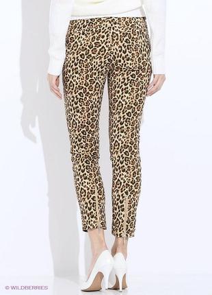 Модные леопардовые брючки от befree. s-m.