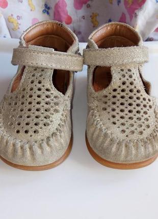 Кожаные туфли bisgaard