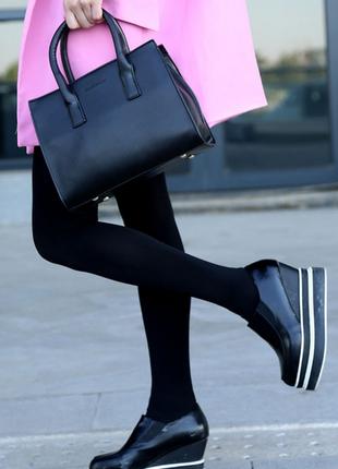 Стильная женская сумка клатч черный