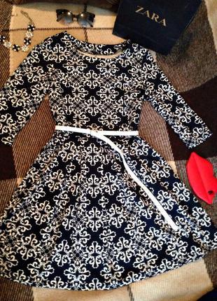 Нереально крутое платье zara,юбка колокол