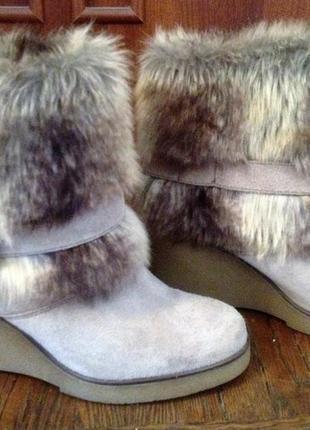 Замшевые ботиночки #розвантажуюсь