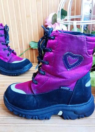 Мембранные термо ботинки от be mega 29р