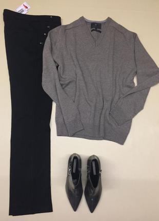Теплый шерстяной свитер m&s