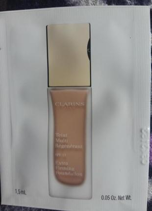 Clarins extra firming foundation 107 beige пробник тонального