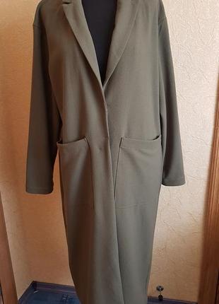 💋облегчённое пальто кардиган only(p.xl)💋