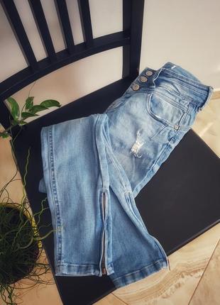 Базові сині джинси denim
