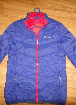 Яркая легкая демисезонная мужская куртка regatta р. 46-48 оригинал, на синтепоне