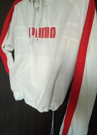 Олимпийка ветровка куртка puma